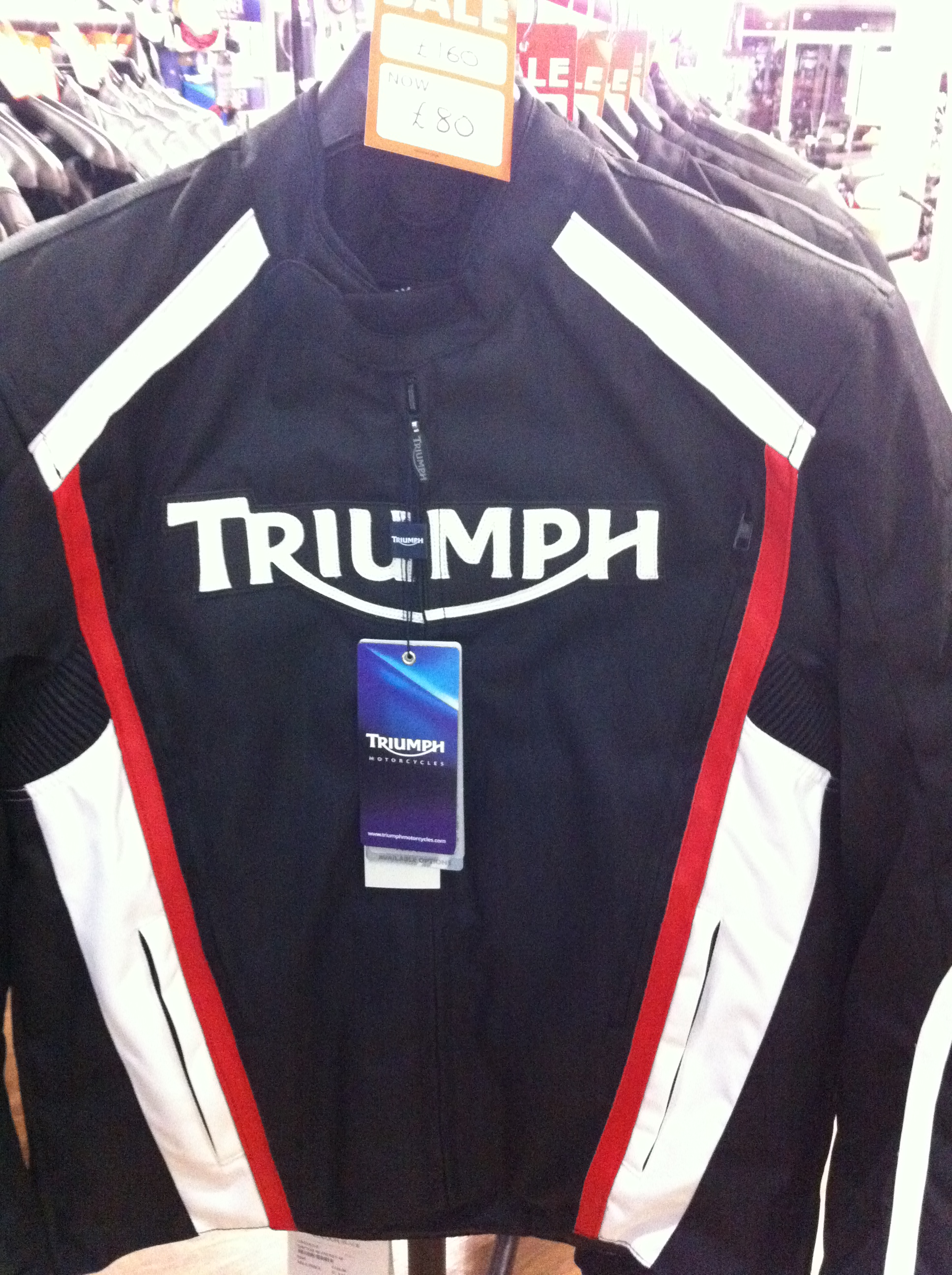 clothing offer at laguna seen today | 675.cc • triumph 675 forum