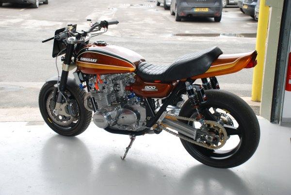 Frame is Spondon Alloy  Z 900 Racefit