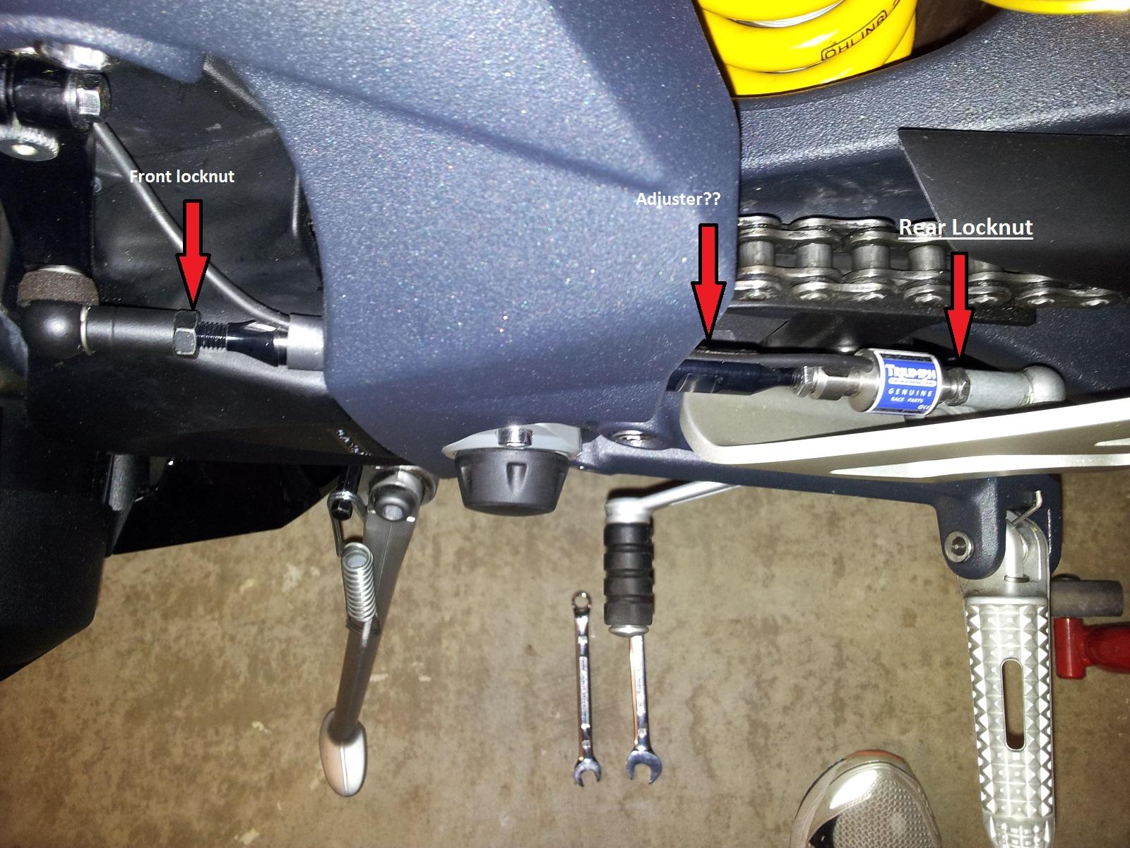 675r Quickshifter Adjustment Question 675cc Triumph 675 Forum